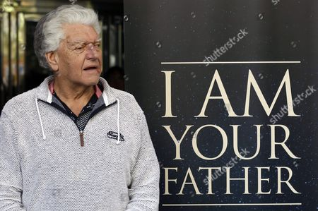 British Actor and Weightlifter David Prowse Known For His Role As Darth Vader in the First Stars Wars Movie Trilogy Poses For Media During the Presentation of the Documentary Film 'I Am Your Father' in Madrid Spain 18 November 2015 Spain Madrid