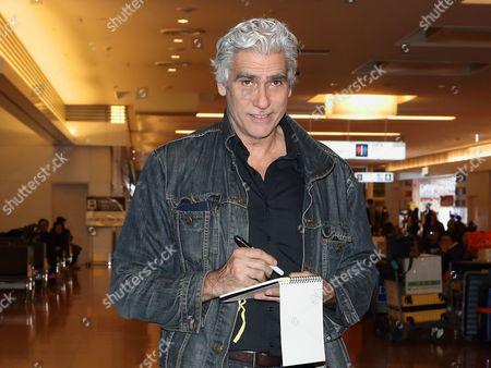 Editorial image of Mark Reay at Haneda International Airport, Tokyo, Japan - 25 Jan 2017