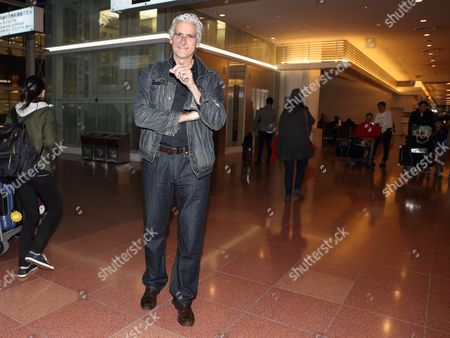 Editorial photo of Mark Reay at Haneda International Airport, Tokyo, Japan - 25 Jan 2017