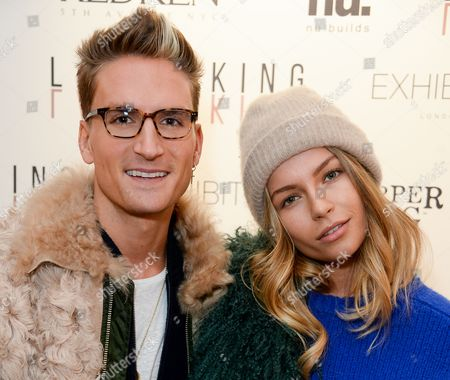 Stock Image of Oliver Proudlock and Emma Louise Connolly