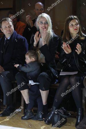 Coco Rocha and her daughter Ioni James Conran