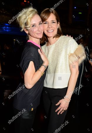 Jo Manoukian and Darcey Bussell