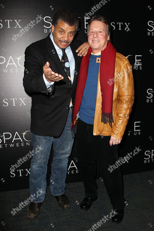 Neil deGrasse Tyson and Richard Barton Lewis (Producer)