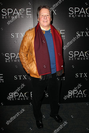 Editorial photo of STX Entertainment with The Cinema Society Host a Screening of 'The Space Between Us', New York, USA - 25 Jan 2017