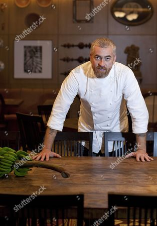 A Picture Made Available on 04 May 2012 Shows Brazilian Chef Alex Atala Posing During an Interview with Spanish News Agency Efe at His Restaurant D O M in Sao Paulo Brazil 03 May 2012 the Restaurant Made Fourth Place in the 2012 World Clacification of Britain's Restaurant Magazine Which was Announced in London Britain on 30 April 2012 Brazil Sao Paulo