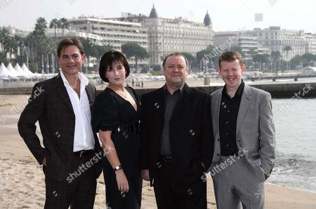 John Michie, Blythe Duff, Alex Norton and Colin McCredie
