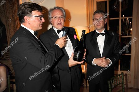 Patric Perrin, CEO of SOC with Christophe Navarre, Chairman of Moet Hennessy