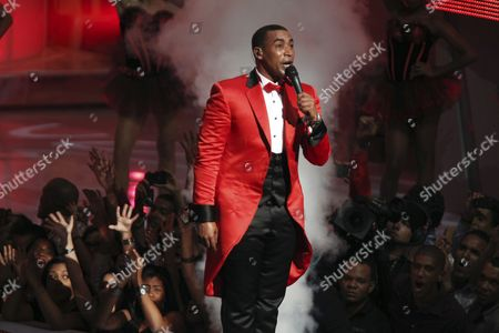 A Picture Made Available on 10 April 2013 Shows Puerto Rican Artist Don Omar Performing During the Soberano Awards Ceremony Held at the National Theatre in Santo Domingo Dominican Republic 09 April 2013 the Soberano Awards Recognizes Dominican Artists Dominican Republic Santo Domingo