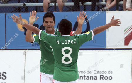 Editorial picture of Mexico Beach Soccer - Feb 2012