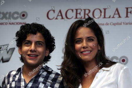 Mexican Actors Ana Claudia Talancon (r) and Sebastian Rivera (l) Pose During a Press Conference For the Presentation of the Film 'Ivan's Dream' in Mexico City Mexico 30 January 2013 the Film is a Mexican Spanish and Colombian Production to Premiere Next 14 February in Mexico Mexico Mexico City