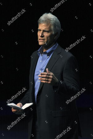 Us Olympic Swimming Medallist Mark Spitz Speaks During the Fourth 'Ideas City' Festival at the Cultural Complex of the University Autonoma of Mexico in Puebla Mexico 12 November 2011 Some 40 Thinkers From Great Britain United States Spain Chile Canada Israel Zambia Norway and Germany Gather in Order to Discuss For Three Days Issues on Robotics Technology Arts and Philosophy Mexico Puebla