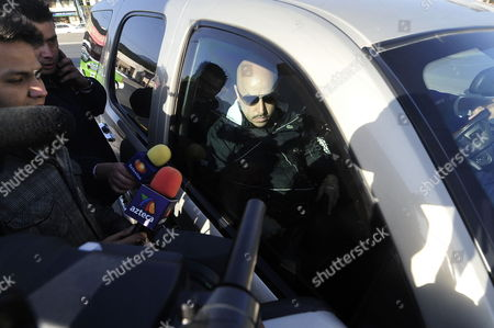Singer Lupillo Rivera Brother of Mexican American Deceased Singer Jenni Rivera Arrives to the Forensic Medicine Unit From the Hospital Universitario De Monterrey in Monterrey Nuevo Leon State Mexico 11 December 2012 where the Mortal Remains of Jenni Rivera and the Other 6 Victims From the Airplane Crash on 09 December 2012 Will Undergo Dna Tests Mexico Monterrey
