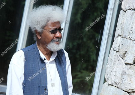 Nobel Literature Prize 1986 Nigerian Writer Wole Soyinka Attends the 3rd Hay Festival in Xalapa Veracruz State Mexico 05 October 2012 the Festival Runs Until 07 October Mexico Xalapa