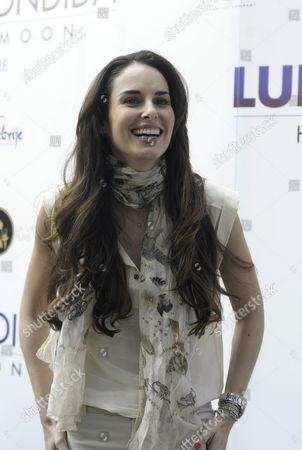 Mexican Actress Ana Serradilla Poses For the Press During the Presentation of the Film 'Hidden Moon' ('luna Escondida') in Mexico City Mexico 14 November 2012 Mexico Mexico City
