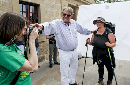 Italian Publicist and Photographer Oliviero Toscani (c) During the Course Entitle 'The Combative Image' Held in Logrono La Rioja Spain on 14 July 2012 the Course Tries to Report and Think the Audience About the Human Relationships Spain Logrono