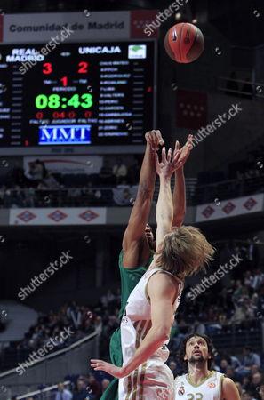 Editorial image of Spain Basketball Euroleague - Feb 2012
