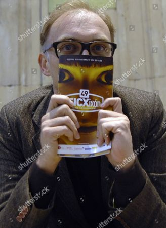 Austrian Film Maker Markus Schleinzer Poses During the Presentation of His Debut 'Michael' Competing on the Official Section of the Gijon Film Festival on 25 November 2011 in Gijon Northern Spain Spain Gijón