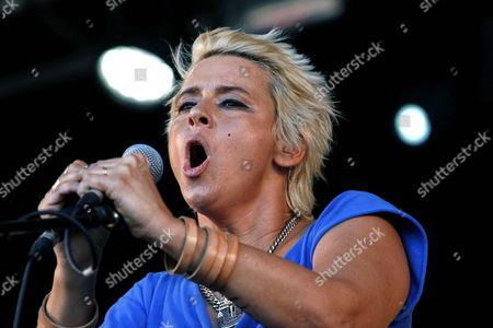 Us Singer Charlyn 'Chan' Marshall with the Artistic Name 'Cat Power' Performs on Stage During the Cruïlla Festival in Barcelona's Forum Barcelona Spain 05 July 2013 the Cruïlla Festival Runs From 05 to 06 July Spain Barcelona