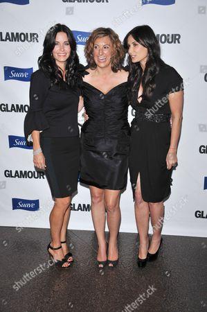 Courteney Cox Arquette, Kirsten 'Kiwi' Smith and Demi Moore