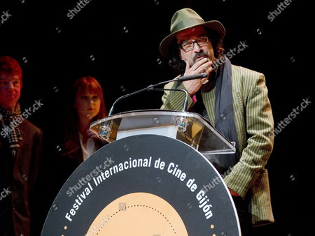 Afghan Film Director and Writer Atiq Rahimi Recives the Young Jury Award For His Film 'The Patience Stone ' During the Closing Ceremony of the Gijon International Film Festival in Gijon Northern Spain 24 November 2012 Spain Gijon