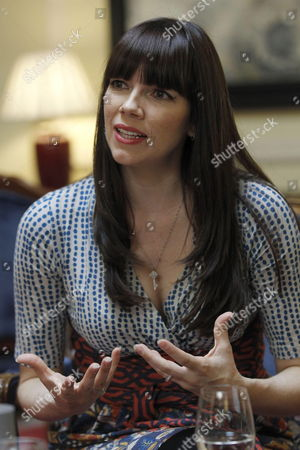 Australian Writer Kate Morton During an Interview in Madrid Spain 24 April 2013 where She Has Talked About Her Latest Novel 'The Secret Keeper' Spain Madrid