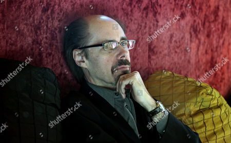 Us Writer Jeffery Deaver Poses During an Interview in Barcelona Spain 07 February 2012 on the Occasion of the Presentation of His Book 'The Cold Moon' Spain Barcelona