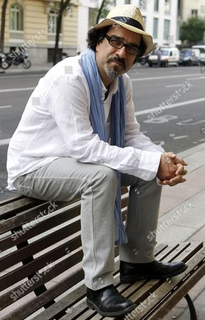 Afghan Writer Atiq Rahimi Poses For Photographers During the Presentation of the Spanish Edition of His Novel 'Maldito Dostoievski' (dostoevsky Be Damned) in Madrid Spain 27 June 2012 Spain Madrid