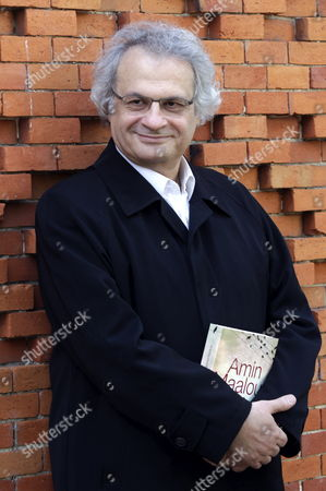 Lebanese Writer Amin Maalouf Winner of 2010 Prince of Asturias Award For Literature Poses For Photographers As He Presents the Spanish-language Version of His Novel 'The Disorientated' at Arab House in Madrid Spain 22 October 2012 Spain Madrid
