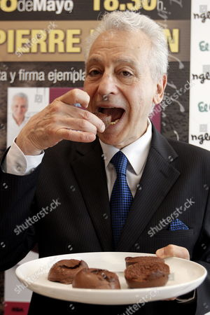 French Doctor and Nutritionist Pierre Dukan Poses During the Presentation of His Latest Book 'La Patisserie Dukan' (the Dukan Diet Desserts and Patisseries) in Valencia Eastern Spain 08 May 2013 Spain Valencia