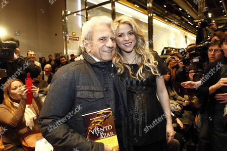 Editorial picture of Spain Literature Shakira - Jan 2013