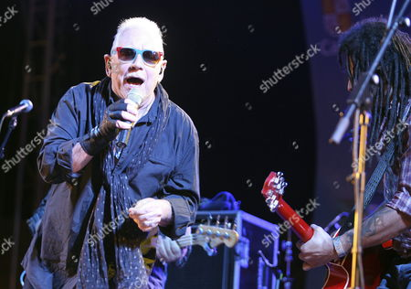 A Picture Made Available on 13 July 2013 Shows Eric Burdon (l) Singer of the British Band 'The Animals' Performing on Stage During Their Concert at the 14th Bejar Blues Festival in Salamanca Spain 12 July 2013 'The Animals' Presented Their Latest Album 'Till Your River Runs Dry' During the Concert Spain Salamanca