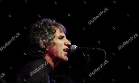 Member of Spanish Band Duncan Dhu Mikel Erentxun Performs During a Concert to Present New Album and Tour at Galileo 100 in Madrid Spain 11 July 2013 the Group Returned on Stage After 12 Years of Separation Spain Madrid