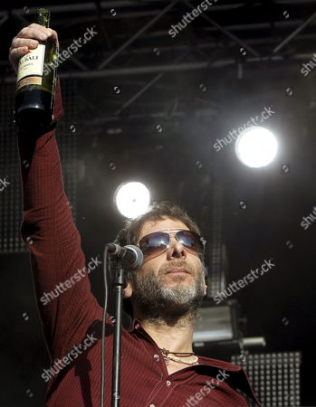 Us Band Mercury Rev's Member Jonathan Donahue Performs on Stage During the Dia De La Musica (day of Music) Festival in Madrid Spain 23 June 2012 Spain Madrid