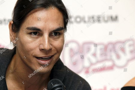Spanish Singer Julio Iglesias Jr Speaks During a Press Conference on His Joining the Cast of the Musical 'Grease' in Madrid Spain 26 March 2012 Iglesias Will Be Playing the Role of 'Ten Angel' During the Spanish Production of the Musical As of 27 March 2012 Spain Madrid