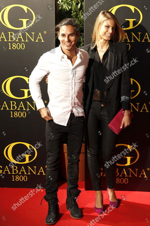 Julio Jose Iglesias Preysler Spanish Julio Iglesias´ Singer Son and His Girlfriend Belgian Model Charisse Verhaert As They Arrive at Their Party Before the Wedding They Will Celebrate Next Saturday in Madrid Spain 01 November 2012 Spain Madrid