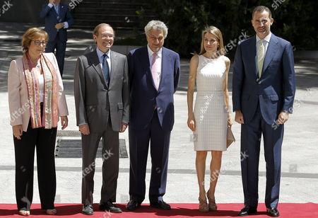 Editorial image of Spain Royalty Awards - Jul 2013