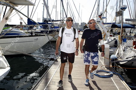 Editorial photo of Spain Sailing - Dec 2012