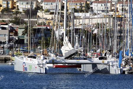 Editorial picture of Spain Sailing - Dec 2012