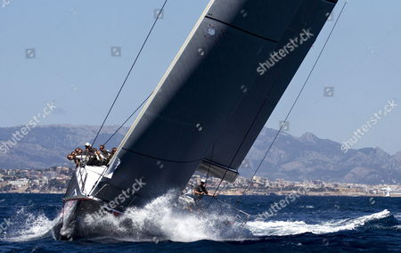 Irc Class Sailboat Jv72 Ran Lead by Niklas Zennstrom During the Second Stage of the 31st Edition of the King's Cup Boat Race Held in Palma Majorca Bay Spain 17 Juy 2012 the Tournament Will Run Until Next Saturday 21 July Spain Palma Majorca