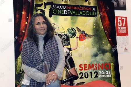 Indian Director Deepa Mehta Poses For the Media During the 57th International Film Festival 'Seminci' in Valladolid Spain 21 October 2012 Mehta Presented Her Movie 'Midnight's Children' at the Film Festival Which Runs Until 27 October Spain Valladolid