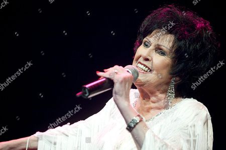 Us´ Legendary Artist Wanda Jackson Known As 'Rockabilly Queen' Performs on Stage During Her Concert in Santa Cruz De Tenerife Canary Islands Spain where She Played Classic Songs and Themes of Her Last Album 'The Party Ain't Over' on 08 July 2012 Spain Santa Cruz De Tenerife
