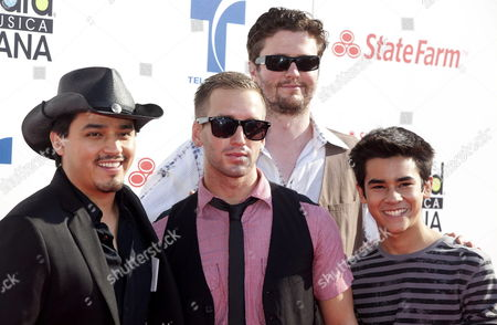 Mission Park Casts (l-r) Douglas Spain David J Phillips Will Rothhaar Walter Perez and Bryce Cass Attend the Second Edition of the Billboard Mexican Music Awards Held at the Shrine Auditorium in Los Angeles California Usa 18 October 2012 This Ceremony is the Only One That Rewards Regional Mexican Music According to Their Performance and the Popularity Charts of Billboard Magazine United States Los Angeles