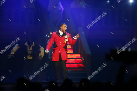 Puerto Rican Singer Don Omar Performs on Stage During His Concert 'Made in Puerto Rico' After Five Years of Absence in the Island in San Juan Puerto Rico 03 May 2013 Puerto Rico San Juan