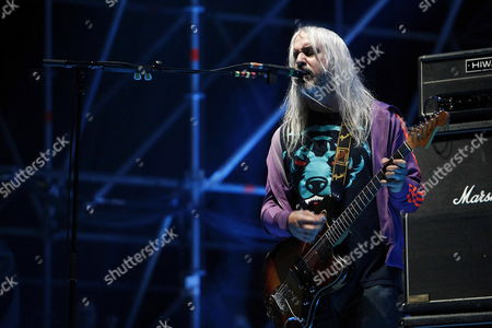 Singer and Guitarist of Us Band 'Dinosaur Jr' J Mascis Performs on Stage at the Primavera Sound Festival Held in Barcelona Northeastern Spain 23 May 2013 the Primavera Sound Festival Runs From 22 May Until 26 May Spain Barcelona