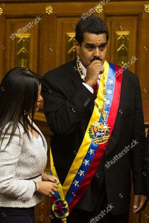 Editorial picture of Venezuela Maduro Inauguration - Apr 2013