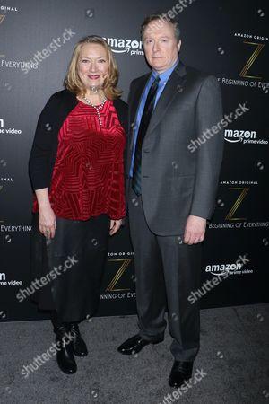 Kristine Nielsen and Brent Langdon