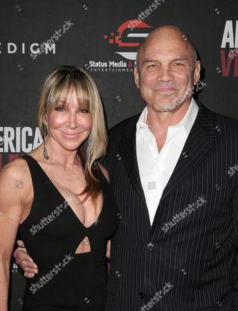 Editorial image of 'American Violence' film premiere, Los Angeles, USA - 25 Jan 2017