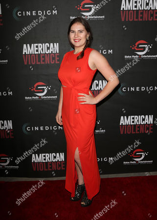 Editorial photo of 'American Violence' film premiere, Los Angeles, USA - 25 Jan 2017
