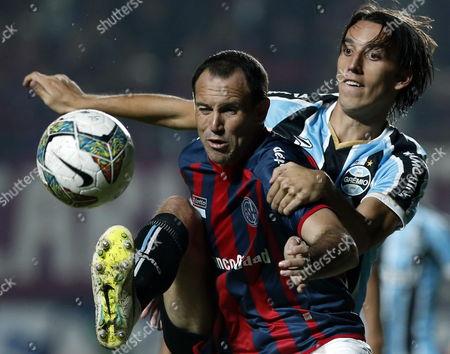 Editorial image of Argentina Soccer Libertadores Cup - Apr 2014