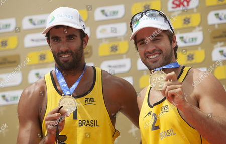 Editorial image of Brazil Beach Volleyball - Oct 2013